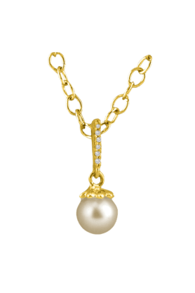 SPARKLESHis & Her Collection 18 Kt Pendant In Gold & Real Diamond HHPXP8963