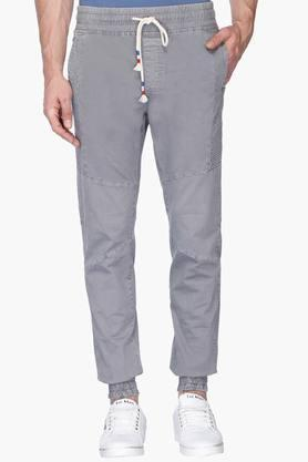 GAS Mens Slim Fit Solid Joggers (Martin Fit)
