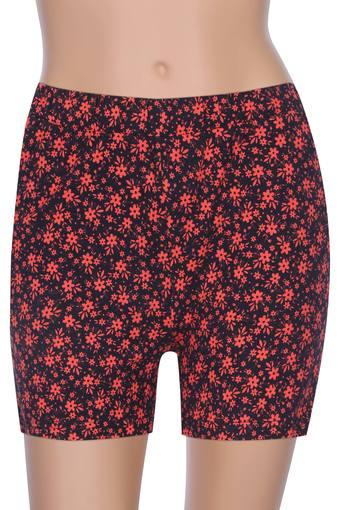 Womens 2 Pocket Printed Shorts