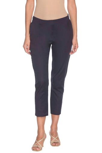 W -  Navy Pants - Main