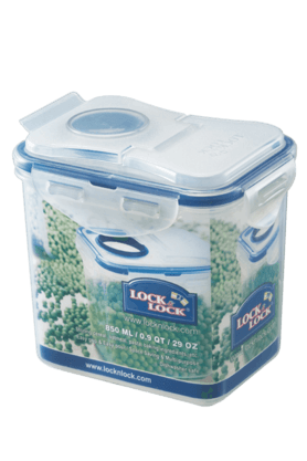 LOCK & LOCK Classics Tall Rectangular Food Container - 850ml