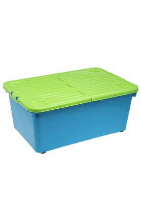 WHATMORE Box With Wheels & Lid - 45 Litres