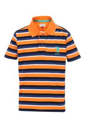 on sale 613d1 5d52a Buy U.S. Polo Shirts & T-Shirts For Men Online | Shoppers Stop