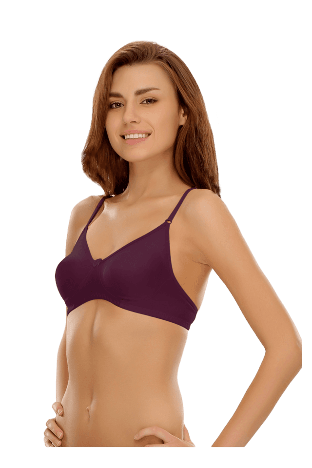 Cotton Rich Non-Padded Wirefree T-Shirt Bra