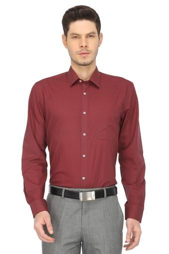 RS BY ROCKY STAR -  MaroonFormal Shirts - Main