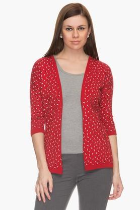 ARROW Womens Printed Casual Shrug