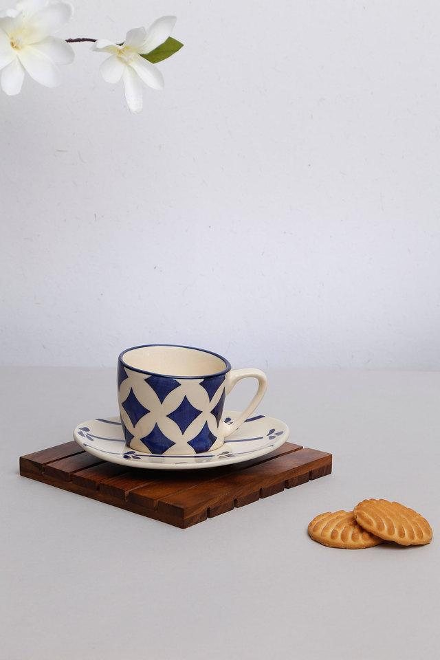 BACK TO EARTH - Blue Mix Light Tea & Coffee Sets - Main