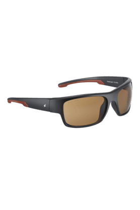 FASTRACK Brown Sporty Wraps Sunglass For Men-P314BR3
