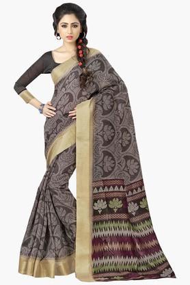 DEMARCAWomens Silk Designer Saree - 202338173