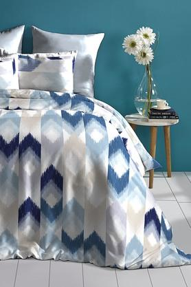 Cotton King XL Digital Printed Bedsheet With Pillow Cover - 202448888
