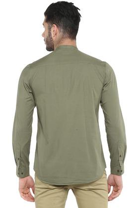 FRATINI - OliveCasual Shirts - 1