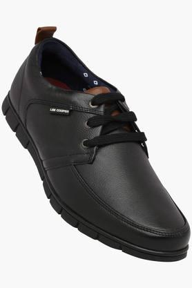 LEE COOPERMens Leather Lace Up Casual Shoes