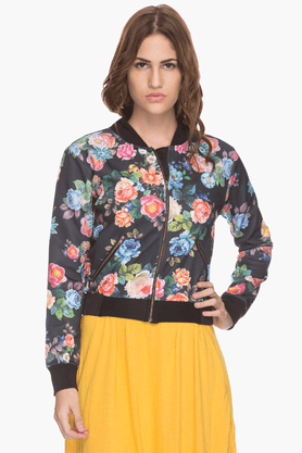 LIFE Womens Printed Bomber Jacket