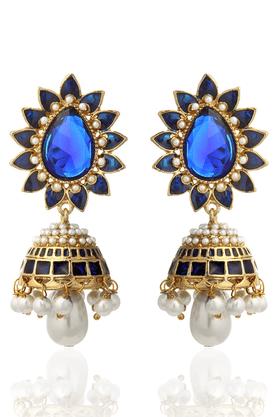 ZAVERI PEARLSDesigner Traditional Jhumki Earring - ZPFK1198