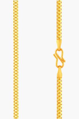 MALABAR GOLD AND DIAMONDS Mens 22 KT Gold Chain - 201391116
