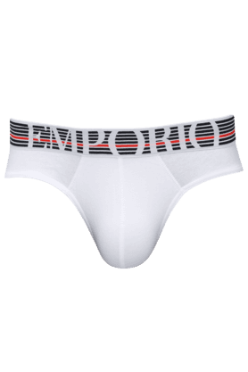 ARMANI INNERWEAR Mens Cotton Printed Briefs