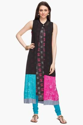 Women Blended Knit Churidar