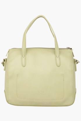 Womens Rivet Zipper Closure Sling Bag