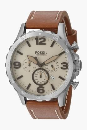 FOSSIL Analogue Beige Dial Men's Watch - JR1503