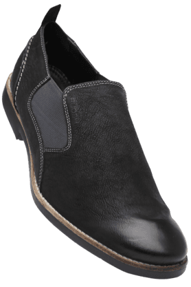RUOSHMens Leather Slipon Casual Shoe