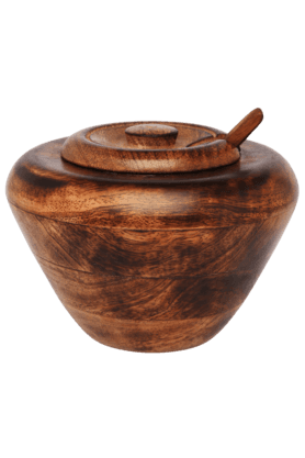 BACK TO EARTHPickle Pot With Spoon