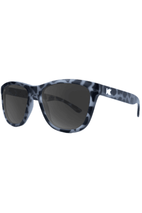 KNOCKAROUND Premium Unisex Sunglassess Matte Black/Tortoise Shell/Smoke-PMSK2068 (Use Code FB20 To Get 20% Off On Purchase Of Rs.1800)