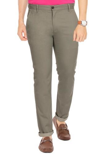 ARROW SPORT -  OliveCasual Trousers - Main