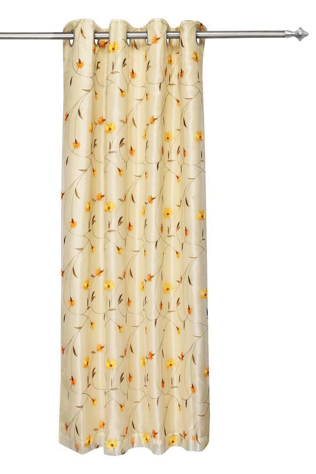 IVY - Yellow MixDoor Curtains - Main