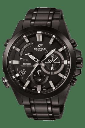 CASIOMens Chronograph Round Dial Watch-EX247