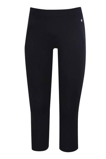 Girls 2 Pocket Solid Leggings