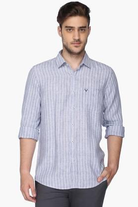 Allen Solly Formal Shirts (Men's) - Mens Regular Fit Stripe Shirt