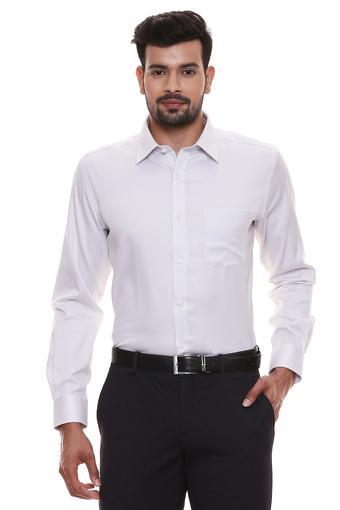 B554 -  WhiteFormal Shirts - Main