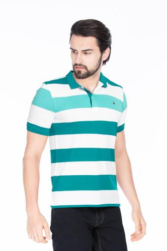 LOUIS PHILIPPE SPORTS -  Green T-shirts - Main