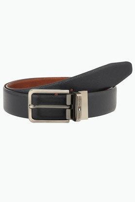 TOMMY HILFIGERMens Reversible Leather Formal Belt