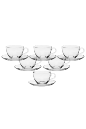 PASABACHE Basic Cup & Saucer (Set Of 6)