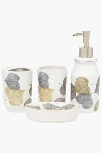 Printed Bath Set of 4