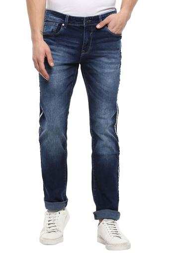 LIFE -  Denim Indigo Dark Jeans - Main