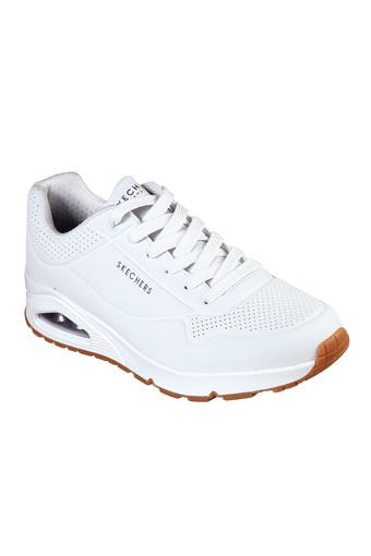 SKECHERS -  White Sports Shoes - Main