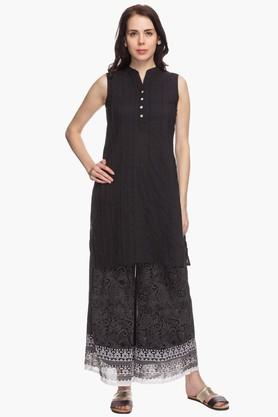 IMARA Womens Regular Fit Palazzo Set
