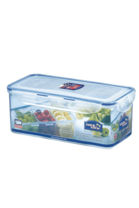LOCK & LOCKClassics Rectangular Food Container With Divider - 3.4 Litres
