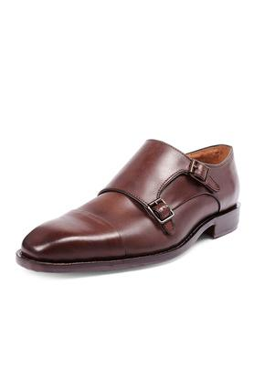 Mens Buckle Closure Monks