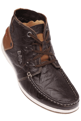 LEE COOPER Mens Leather Casual Shoe