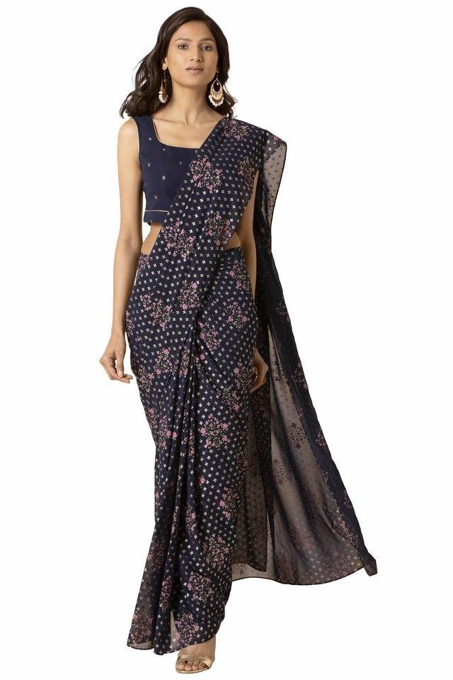 INDYA - BlueWomen Ethnic Wear - Main