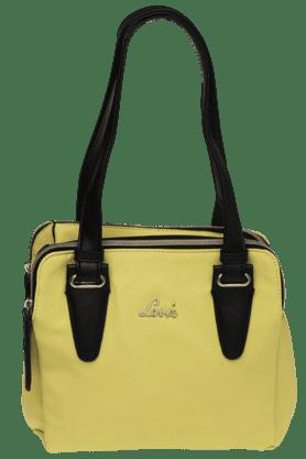 LAVIEWomens Rhodes Leather 3 Compartment Medium Satchel