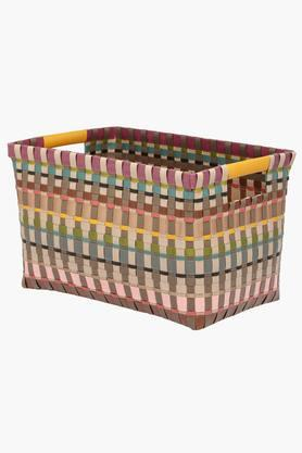 IVY Rectangular Basket With Handle - Small