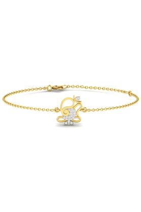 SPARKLESHis & Her Collection 92 Kt Diamond Bracelets In 925 Sterling Silver Diamond HHRK10931-92KT