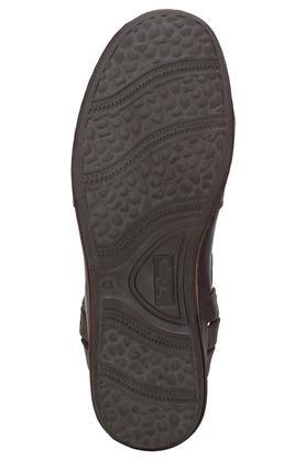 Mens Leather Slipon Strollers