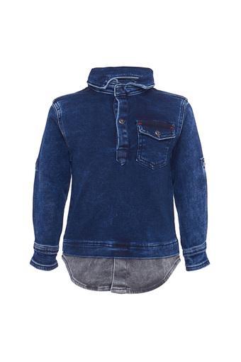 TALES & STORIES -  Dark BlueTopwear - Main