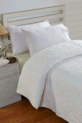 STOA PARIS White Surface Round Bedlinen (Quilt (Single)
