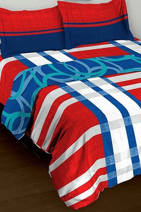 TOMATILLONature Pure Combo - Double Bedsheet (Set Of 3) - 201145054